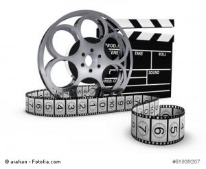 Filmklappe - Filmrolle