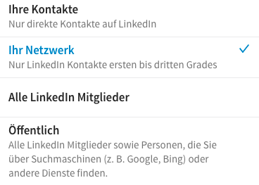 Linkedin Profil Social Media International