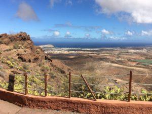 Blick in ein Tal auf Gran Canaria