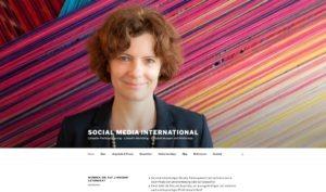 Social Media International Homepage